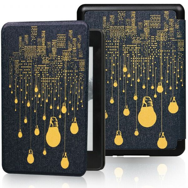 Kindle Paperwhite Art Case Cover City Lights